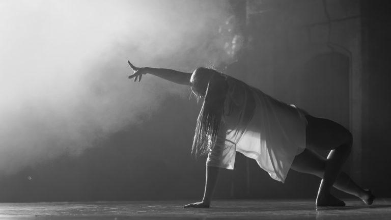 Prestation d'une danseuse
