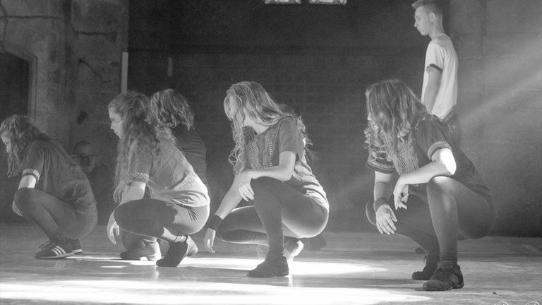 Prestation de 3 danseuses